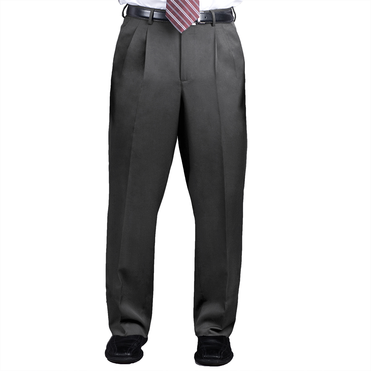 Men S Pants Pleated Front Easywear Comfort Stretch