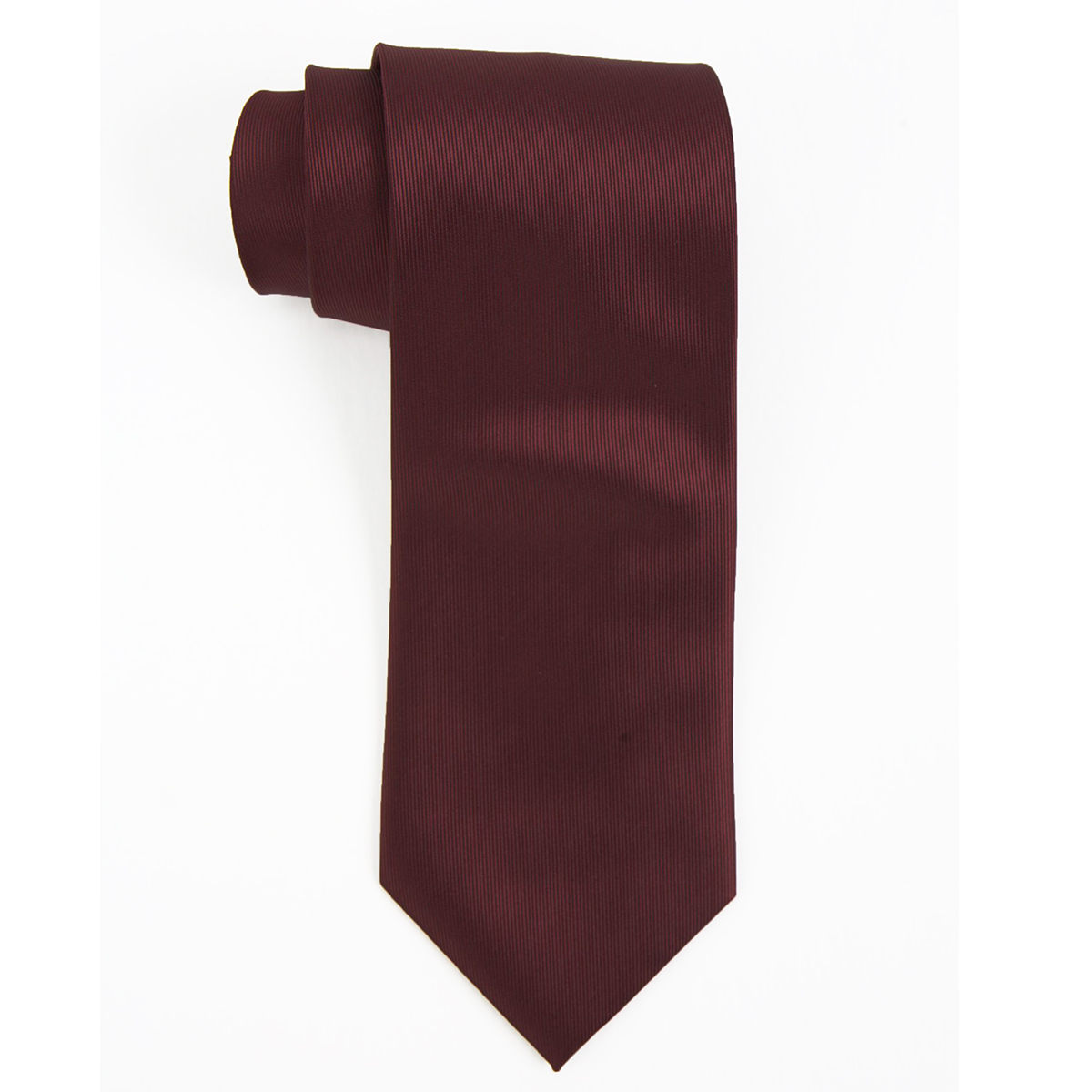Men's Tie Polyester Solid Dobby | Executive Apparel