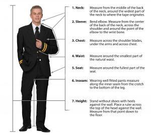 Executive Apparel Men's Fit Guide