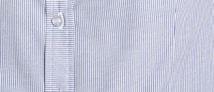 Pinstripes shirt detail in blue
