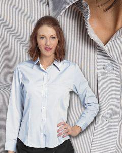 Women's Shirt for Uniform Pinstripes