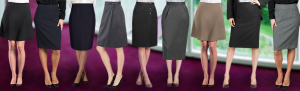 Skirts for Uniforms from Executive Apparel