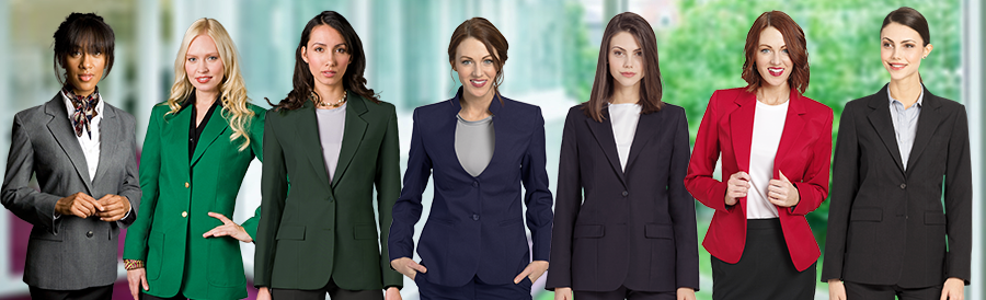 Blazers for Women's Uniform
