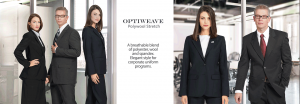 Optiweave Polywool Stretch and career apparel for Uniforms