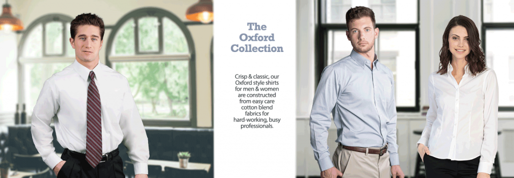 Oxford Shirt Collection for Uniforms