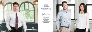 Oxford Shirts and career apparel for uniforms by Executive Apparel