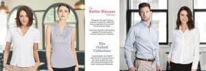 Custom Work Uniforms-Blouses Oxford Shirts