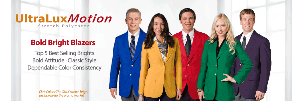 UltraLuxMotion Stretch Polyester Uniform Blazers