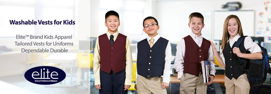 Uniform vests for kids