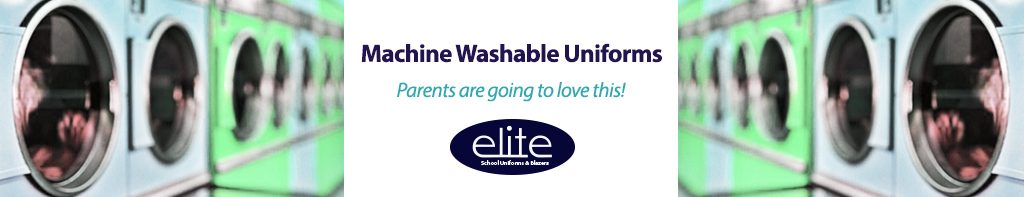 machine washable school uniforms