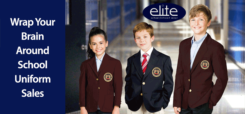 Wrap Your Brain Around School Uniform Sales