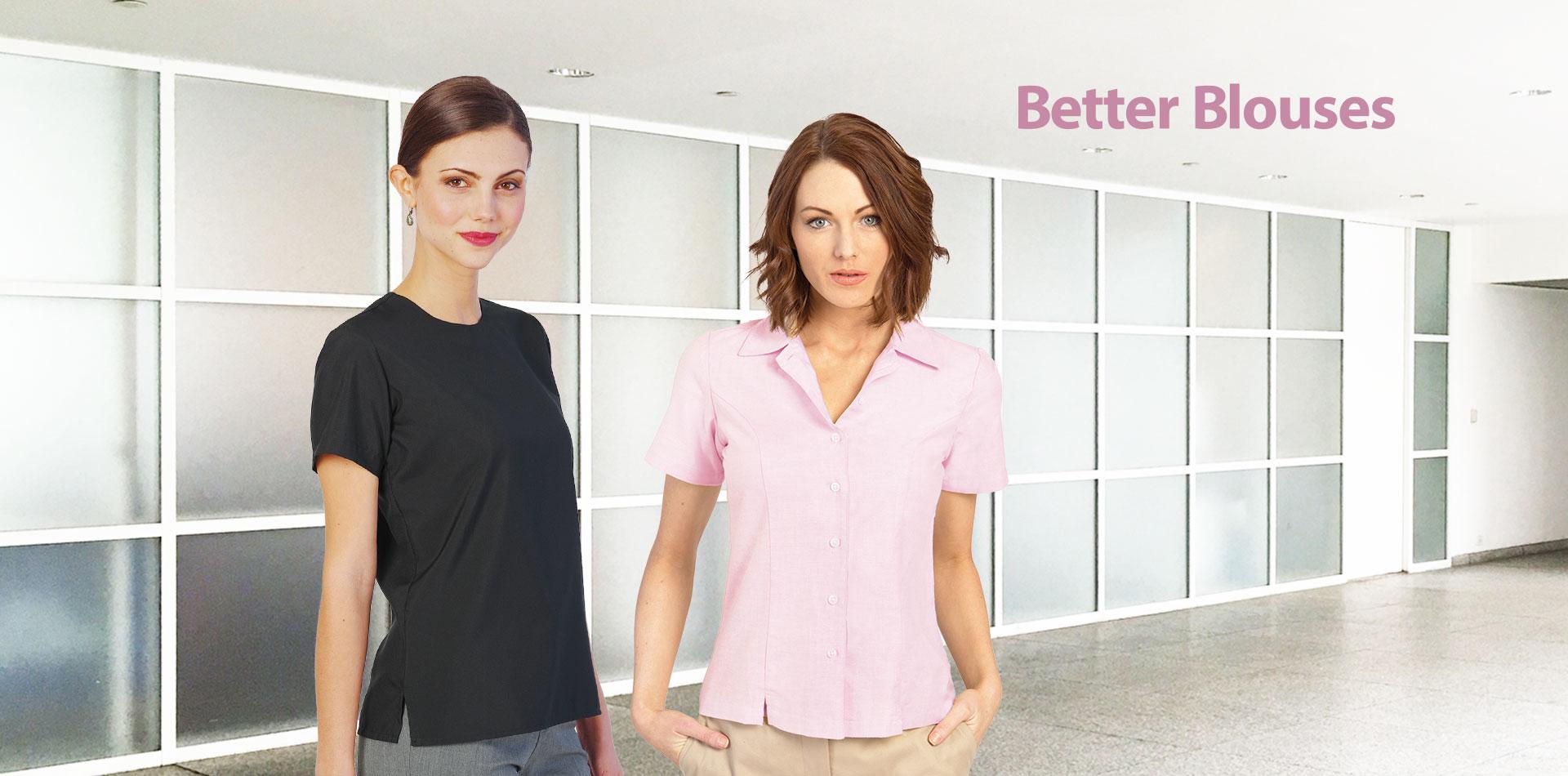 Executive Apparel Better Blouses for Uniforms