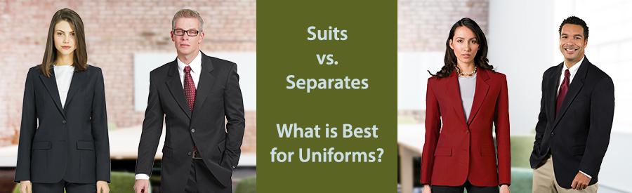 Uniform Suppliers Define Suiting Separates