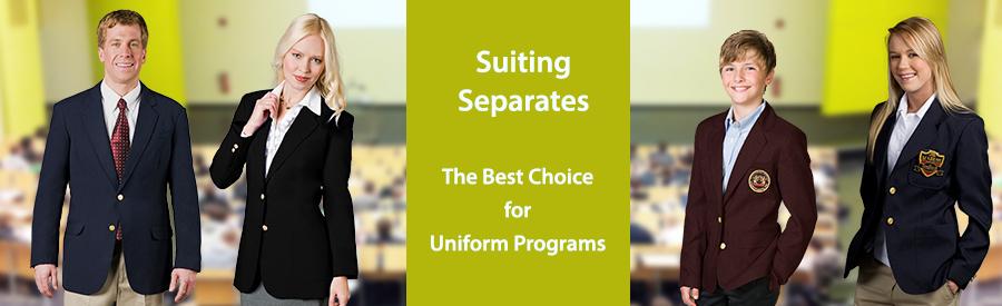 Uniform Suppliers Choose Suiting Separates