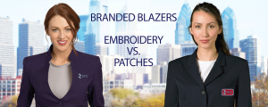 Branded Uniform Blazers: Embroidery vs. Patches