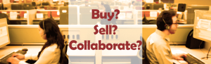 They Call to buy, sell or collaborate.