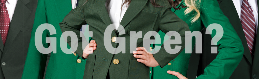 Got Green Blazers for Uniforms?