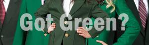 Got Green Blazers for Uniforms?