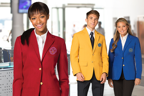 Collegiate Blazers and Club Blazers Executive Apparel