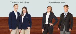 Casual Uniform Blazers Jet and Devin