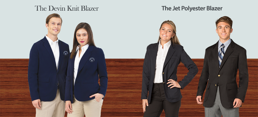 Casual Uniform Blazers Jet And Devin
