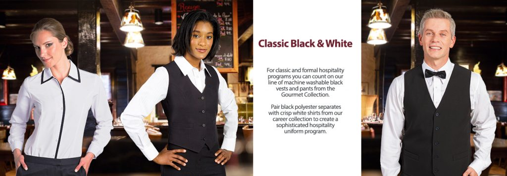 Black Hospitality Uniforms