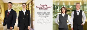 Hospitality Uniforms from Executive Apparel