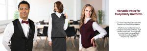 Hospitality Vests for Uniforms