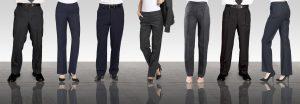 Career pants skirts dresses for uniforms