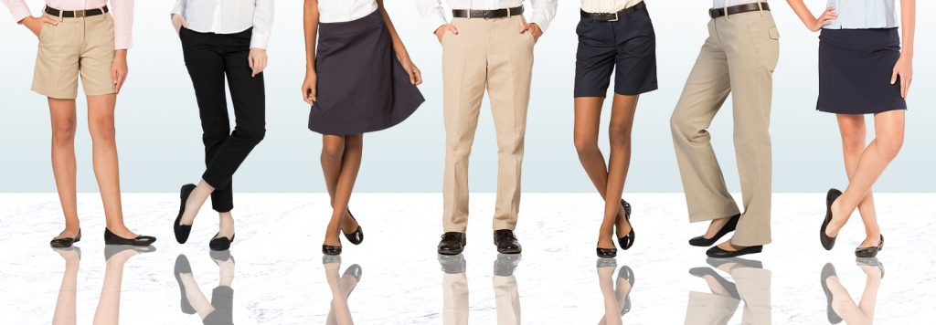 Casual Uniform Pants and skirts from Executive Apparel