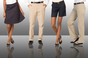Casual Pants, Skirt and Dresses for uniforms
