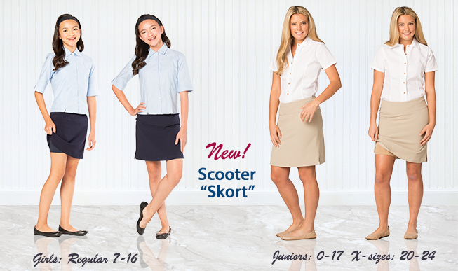 Executive Apparel Scooter Skort