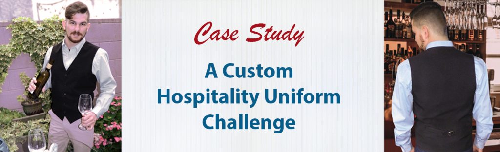 tITLE pHOTO FOR BLOG POST: Custom Hospitality Uniform Challenge Case Study