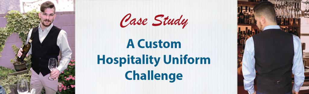 tITLE pHOTO FOR BLOG POST: Custom Hospitality Uniform Challenge Case Study