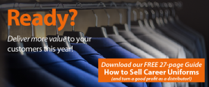 CTA button to Download: How to Sell Career Uniforms