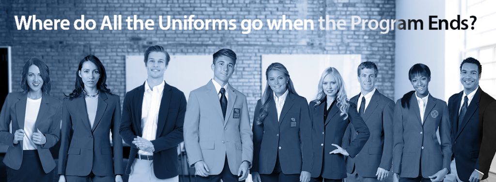 People in uniforms