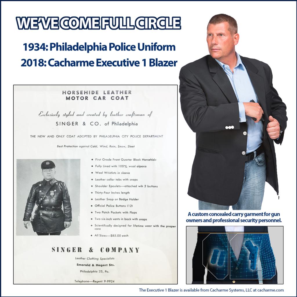 Custom Work Coats: The Police Coat & More – Executive Apparel